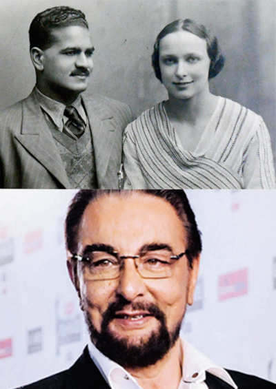 Blue tick for Kabir Bedi's mother
