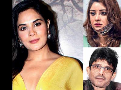 Richa Chadha files defamation suit against Payal Ghosh, Kamaal R Khan