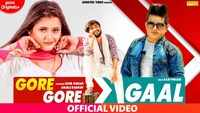 Latest Haryanvi Song 'Gore Gaal' Sung By Raju Punjabi