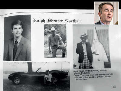 Virginia guv's U-turn: Says blackface photo wasn't him