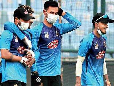 Bangladesh endure New Delhi pollution before today's T20I against India