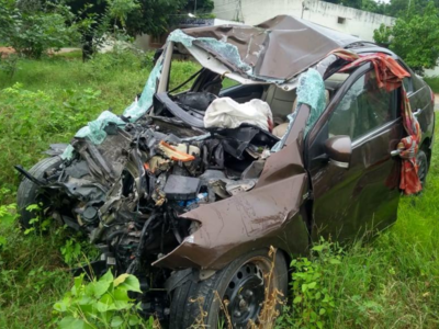 Five youths killed in Telangana road accident