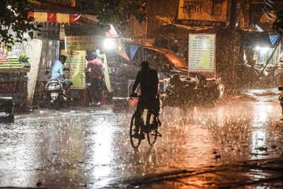 Delhi news: Parts of city witness rain