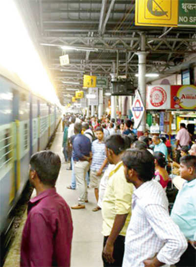 Suburban rail is a hit with techies