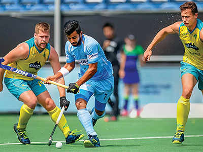 Hockey Champions Trophy: India loses to defending champions Australia 1-3