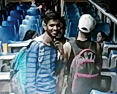 Passenger punches LCD screen on Tejas