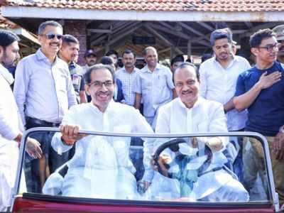 Ajit Pawar's midnight birthday wish for Uddhav Thackeray raises eyebrows