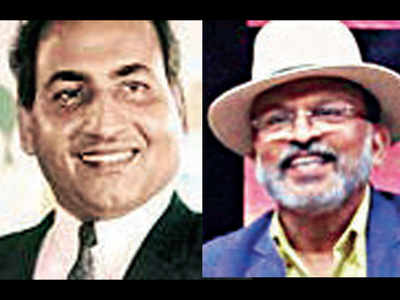 When Mohammad Rafi turned back to sing what would be his last lines