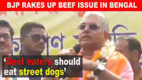 Beef eaters should eat street dogs: BJP MP Dilip Ghosh