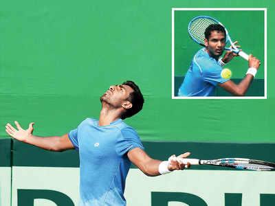 Prajnesh Gunneswaran, Ramakumar Ramanathan lose, Italy leads 2-0 on Day 1
