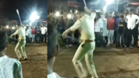 Watch: Gujarat cop surprises spectators with baton stunt on Muharram