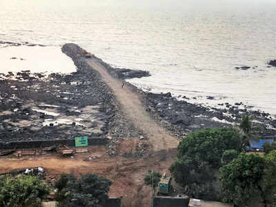Jetty, set, go: Work starts on Rs 12,000-crore coastal road
