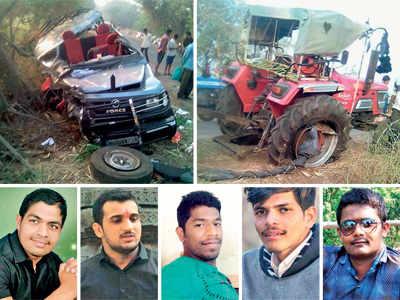 Five wrestlers among six killed in Sangli road mishap