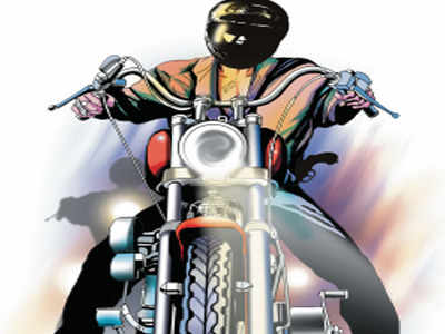 Biker charged with spying after cops caught him without mask, driving licence; here's why