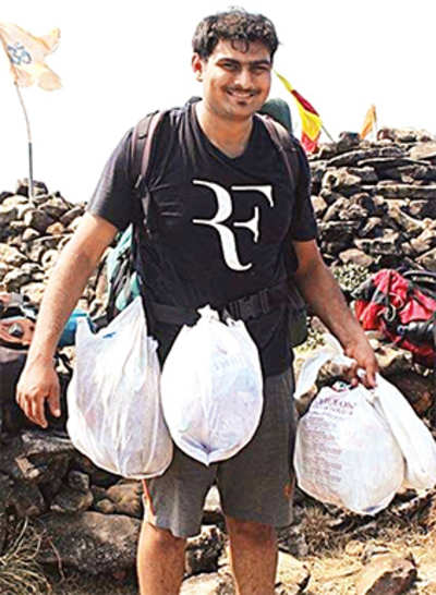 Trash Trekkers: These trekkers from Bengaluru are on a green trial