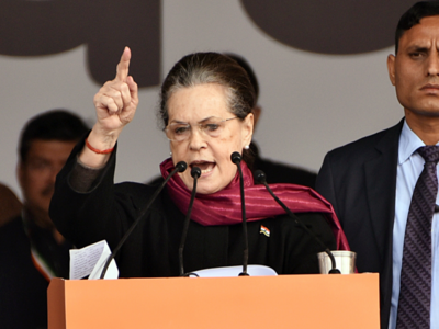Sonia Gandhi: People have right to raise voice against wrong decisions in democracy