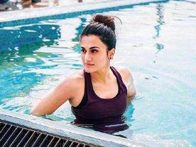 When Taapsee Pannu overcame her fear of swimming