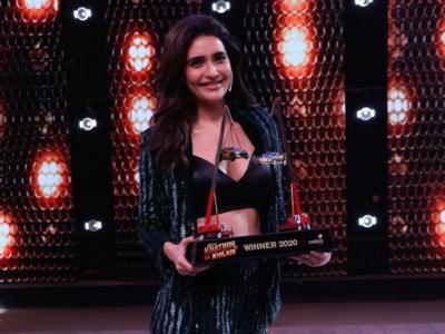 Karishma Tanna pens heartfelt note on winning Khatron Ke Khiladi 10; says 'I am holding all the dreams I dared to dream'