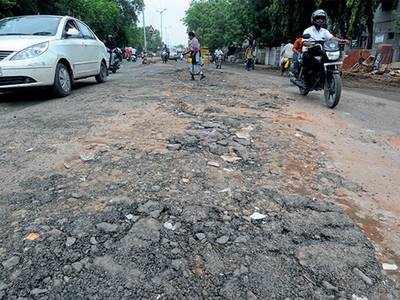Roads are bad, admits AMC