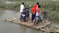 Bhutan rains: Bridge in Assam gets washed away