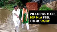 Viral: When angry public made BJP MLA take a stroll in sewer water