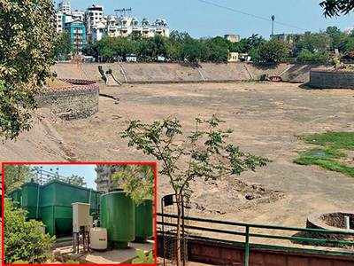 STP is no relief for dry Vastrapur lake