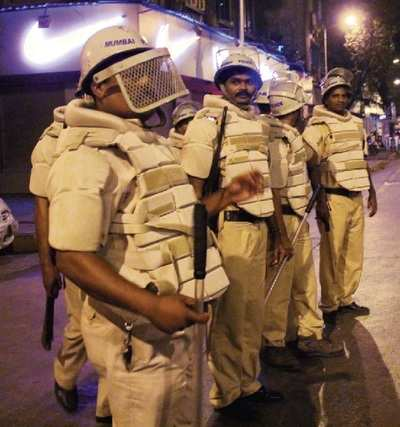 Cops deployed after clashes in Parel