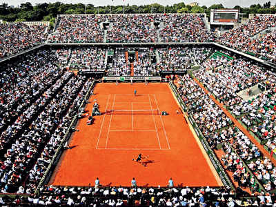 French Open: Behind closed doors