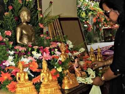 Maha Bodhi Society celebrates Buddha Poornima