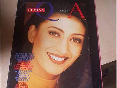 When Smriti Irani featured on the cover of Femina magazine