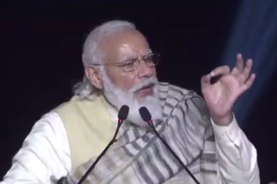 PM Modi in Varanasi live updates: Nation giving befitting reply to expansionist forces, says PM Modi