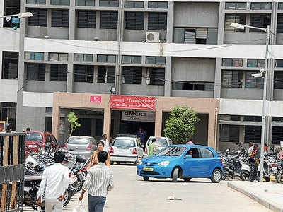 Few takers for peripheral hospitals