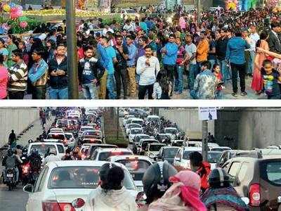 Amdavadis caught in a jam