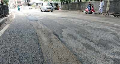 Bengaluru: A different kind of 'dangerous': New technology used by BBMP to fill up potholes has left the road no safer than before