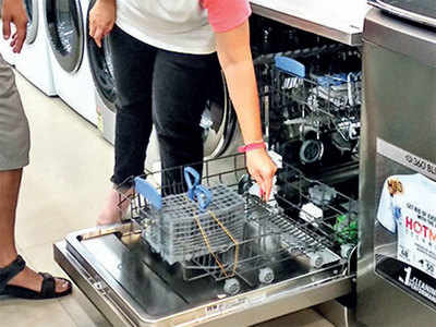 Lockdown chores spike sale of dishwashers
