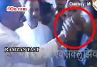 Shocking: Shiv Sena MPs force Muslim staffer to break Ramzan fast