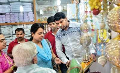 The grand old Gandhi Bazaar