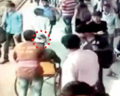 Man with bloodied head left waiting as GRP, RPF bicker