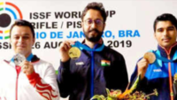 ISSF World Cup: Gold for Abhishek Verma, Saurabh Chaudhary grabs bronze in Brazil