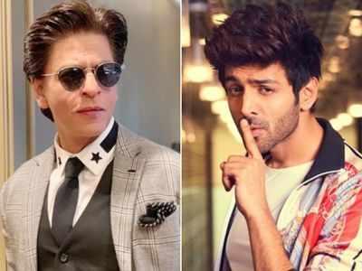 Kartik Aaryan recalls having Shah Rukh Khan's posters in his room, shares picture of his fan