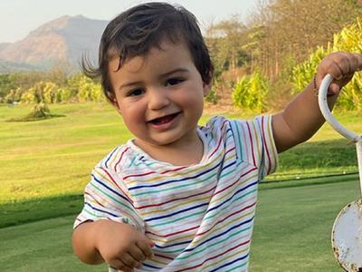 Arjun Rampal, Gabriella Demetriades introduce son Arik to the world on his first birthday, share pictures