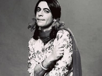 Sunil Grover aka Gutthi accepts the black and white challenge, check his post here