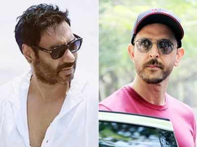 Hrithik Roshan, Ajay Devgn shoot for individual remakes of popular international series