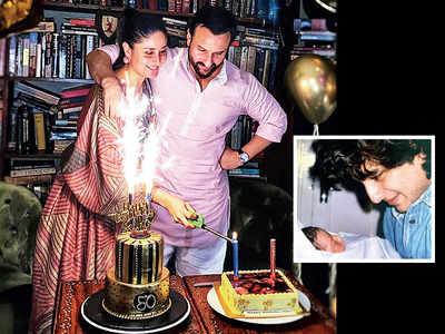 Golden birthday celebrations for Saif Ali Khan