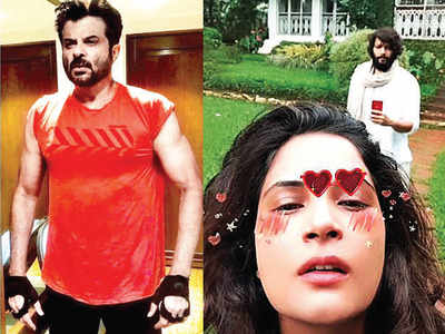 Muscling in with Anil Kapoor