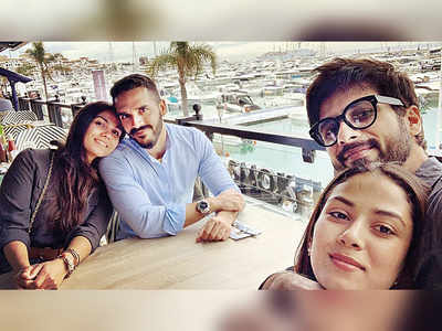 Shahid Kapoor and wife Mira bond with friends in Spain