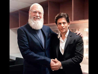 SRK's fanboy moment with David Letterman