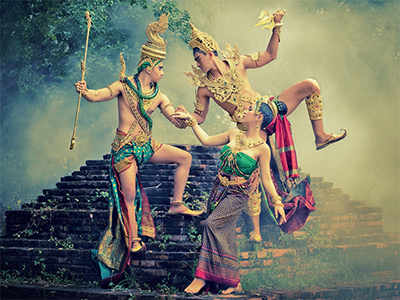 Ramayana on stage