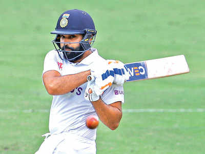Don't regret playing that shot off Lyon, says Rohit