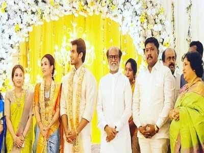 The countdown begins! Rajinikanth's daughter Soundarya Rajnikanth and fiance Vishagan Vanangamudi begin celebrations with pre-wedding rituals